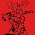 Chainsaw Bunny 2 by Crockpot