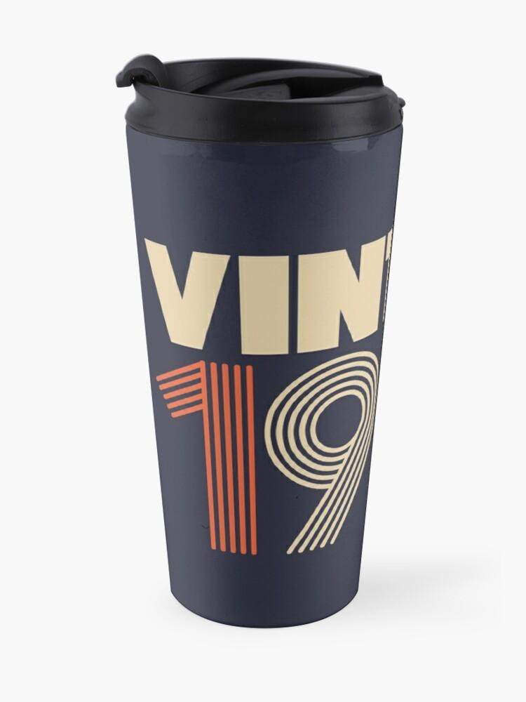 Alternate view of Vintage 1970 - 48th Birthday Travel Mug
