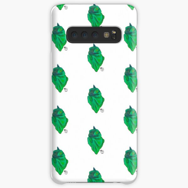 Teal and Green Iguana Samsung Galaxy Snap Case