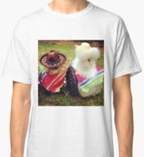 Chicken and chihuahua Classic T-Shirt