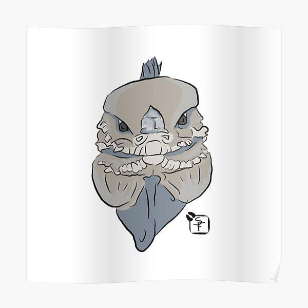 Rhino Iguana Poster
