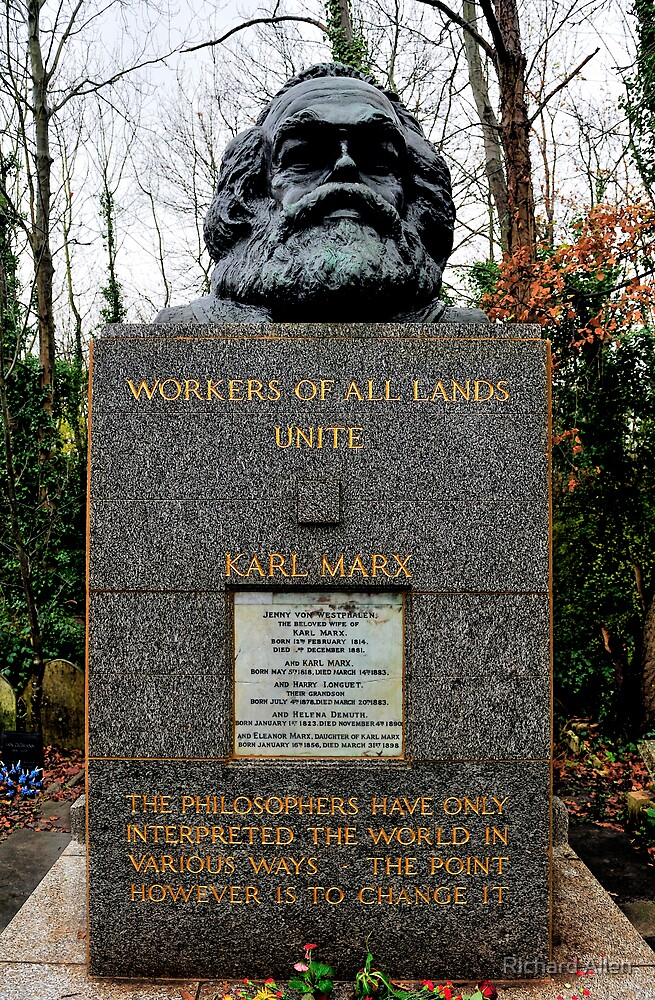 Karl Marx by Lea Valley Photographic