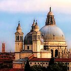 Santa Maria Della Cathedral - Venice, Italy by Marylou Badeaux