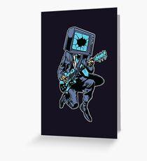 Death Rock N Roll Greeting Card