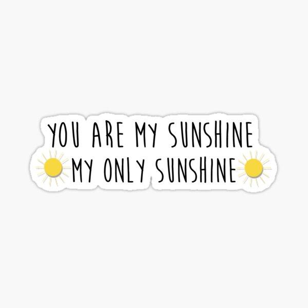 My Sunshine Sticker