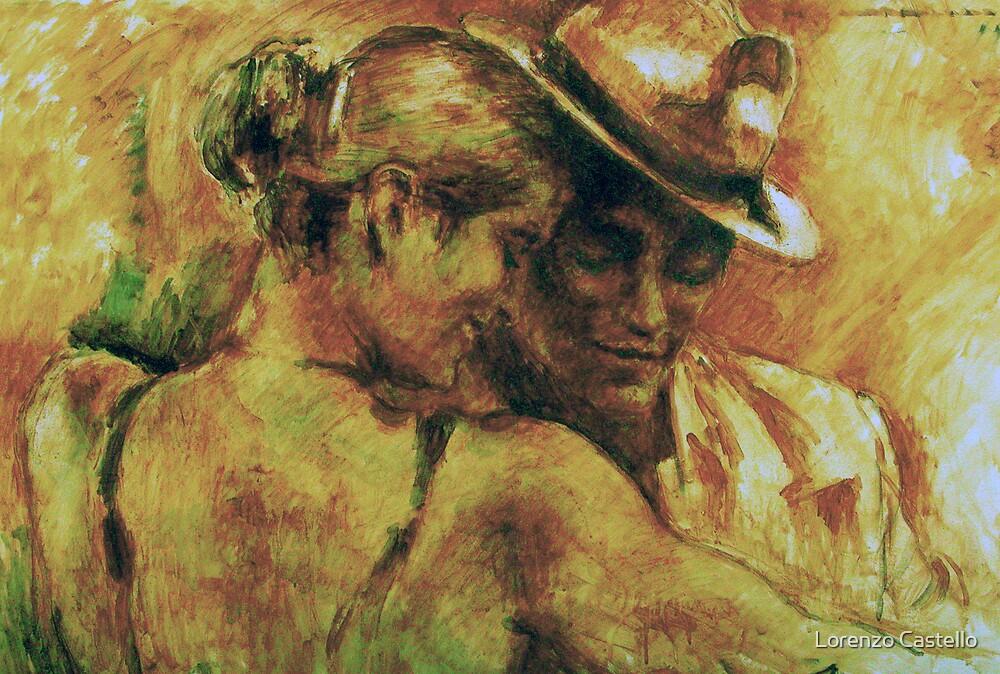 Tango's complicity by Lorenzo Castello