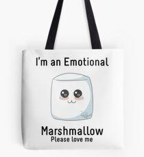 Emotional Marshmallow Tote Bag