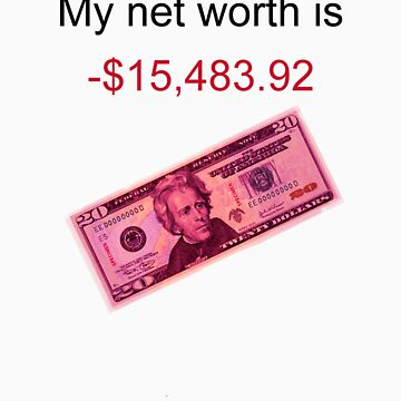 Net worth (-) by crackgerbal