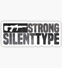 ODST Strong Silent Type Sticker