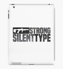 ODST Strong Silent Type iPad Case/Skin