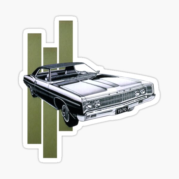 1970's Muscle Sticker