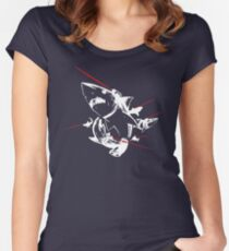TOP DESIGN Sharks With Lasers New Product Women's Fitted Scoop T-Shirt