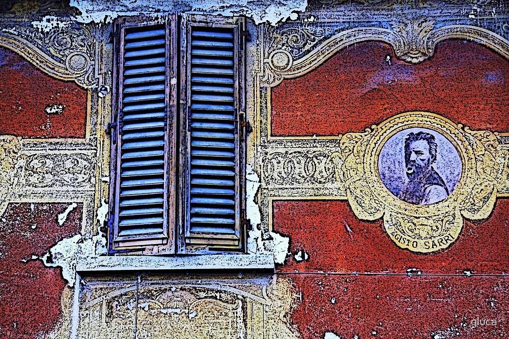 Old window in Figline Valdarno - Firenze by gluca