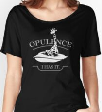 NEW PRODUCT EN872 Opulence I Has It Trending Women's Relaxed Fit T-Shirt