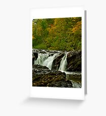 Rapids Above Turtletown Creek West Falls I Greeting Card