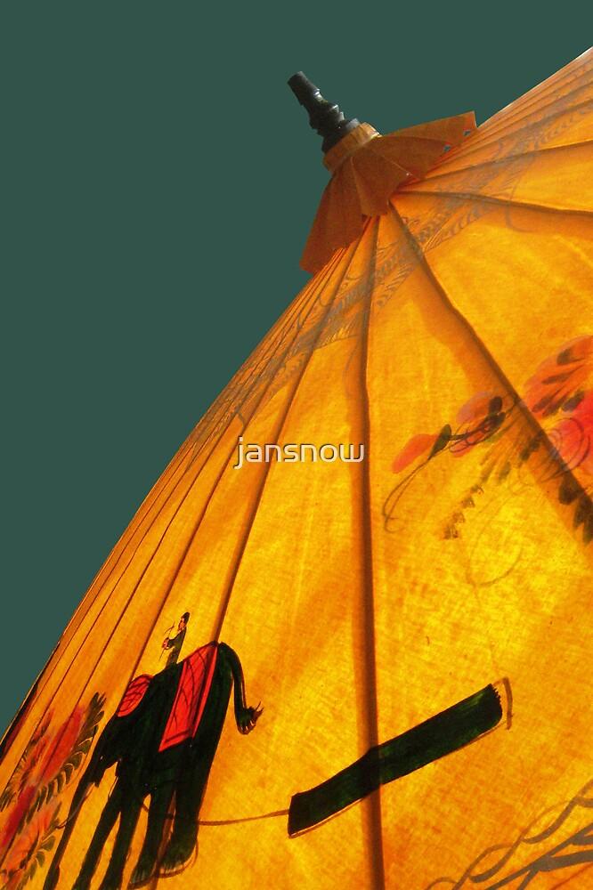 Antique Umbrella by jansnow