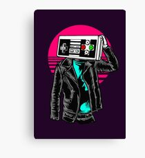 Street Gamers Canvas Print