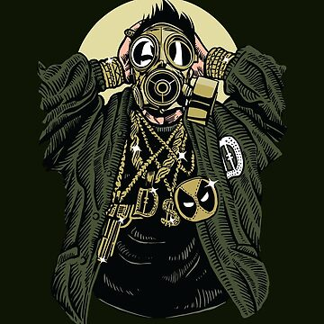 Gaskmask Gangsta by asteriongraphic