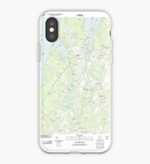 Maine USGS Historical Map North Windham 20110825 TM iPhone-Hülle & Cover