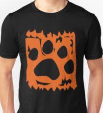 The Art of Woof: Orange Unisex T-Shirt