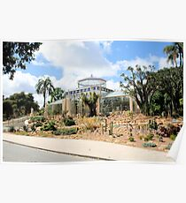 A day at the  Adelaide Botanical Gardens. Poster