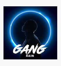 RAIN - Gang Photographic Print