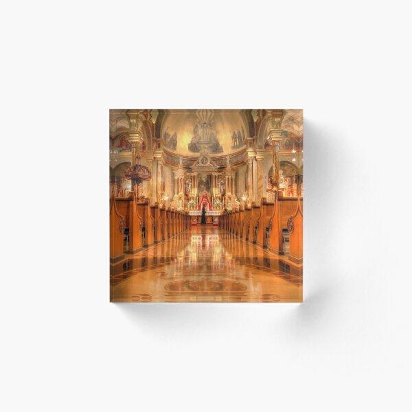 St. John Cantius Church Acrylic Block