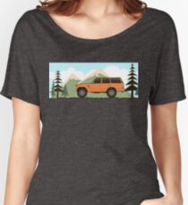 Fj60 Land Cruiser Women's Relaxed Fit T-Shirt