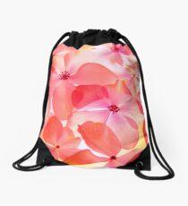 Hydrangea Macro Drawstring Bag