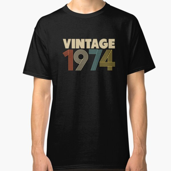Vintage 1974 - 44th Birthday Classic T-Shirt