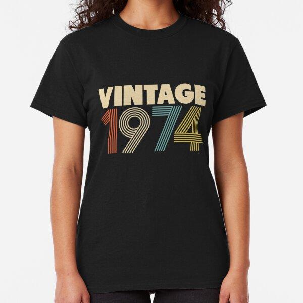 Vintage 1974 - 44th Birthday Classic T-Shirt