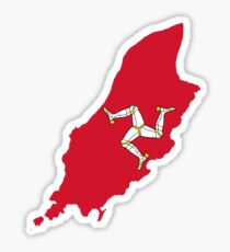 Isle of Man Flag Sticker