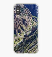 Black Canyon of the Gunnison the River and the Cliffs iPhone Case