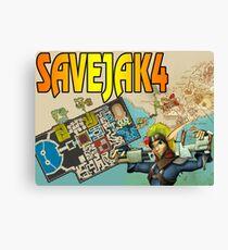 SAVE JAK 4 Canvas Print