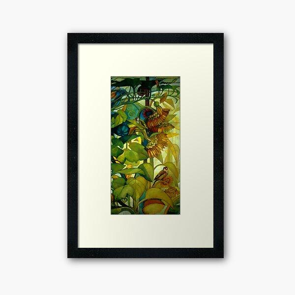 goldfinches Framed Art Print
