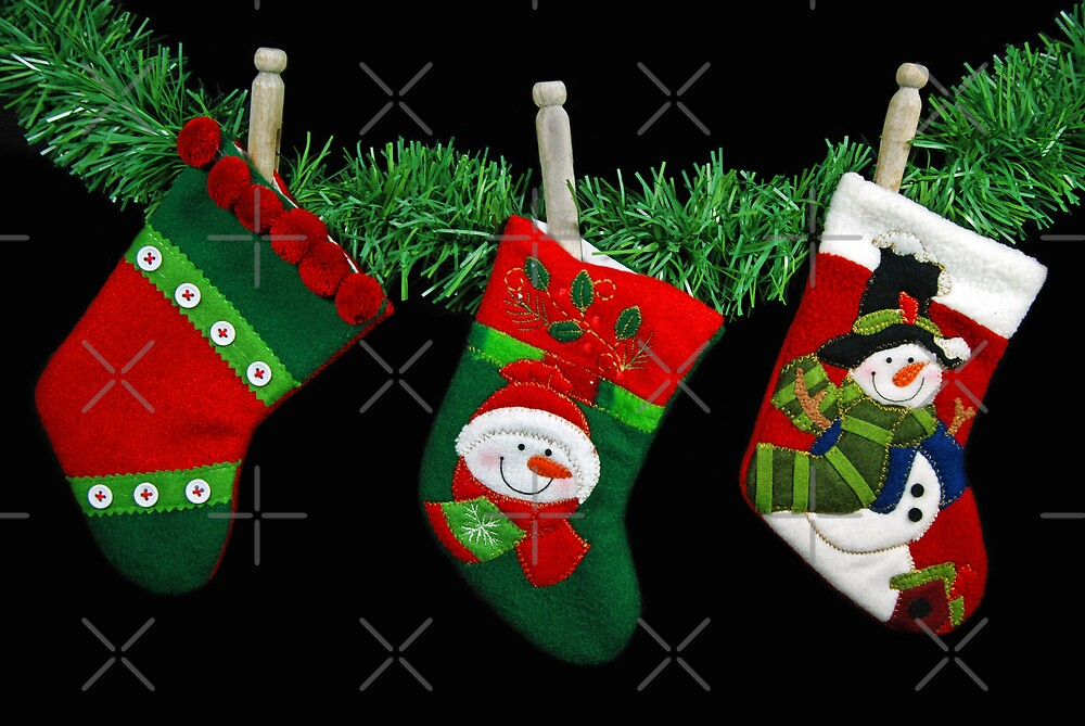Empty Stockings by Maria Dryfhout