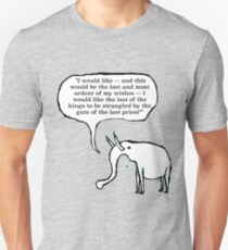 A GoodThoughtsElephant no1 of series Unisex T-Shirt