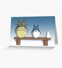 Totoro Nesting Dolls Greeting Card