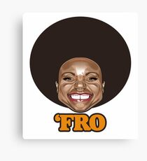 'Fro Canvas Print