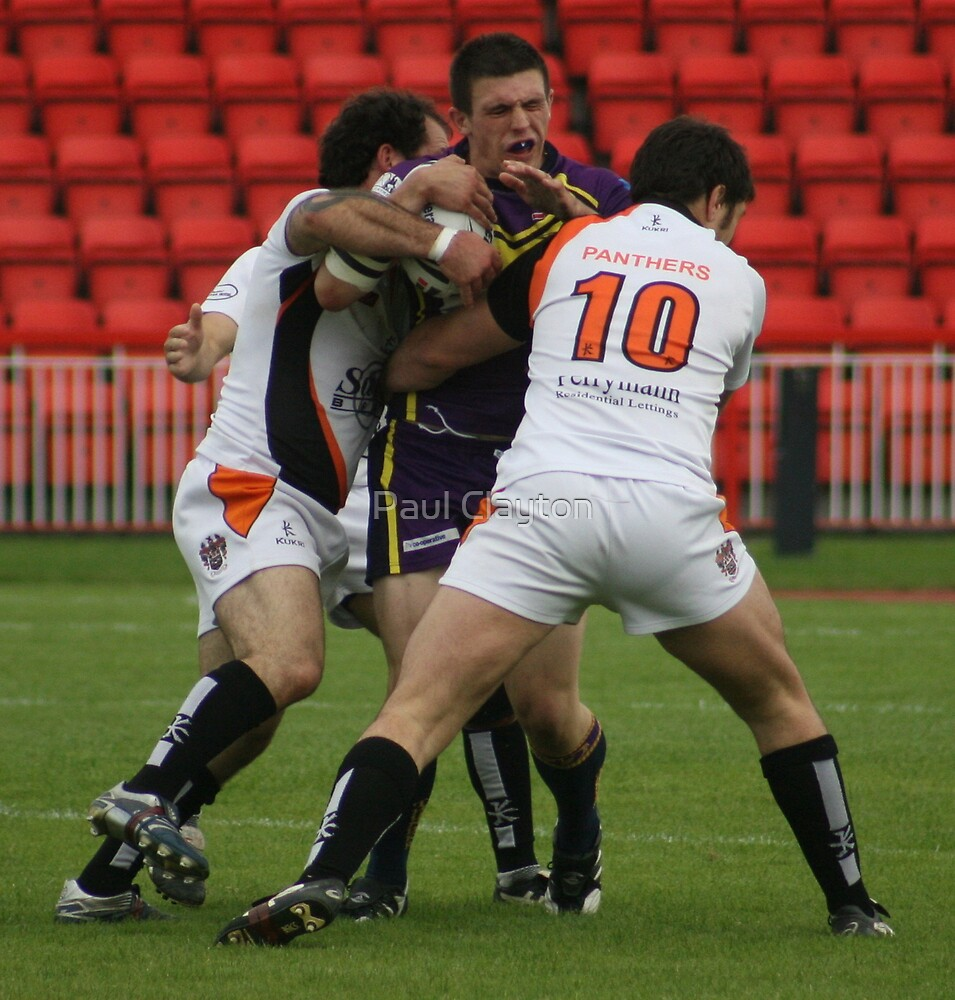 Gateshead Thunder 2008 - Matty Barron by Paul Clayton