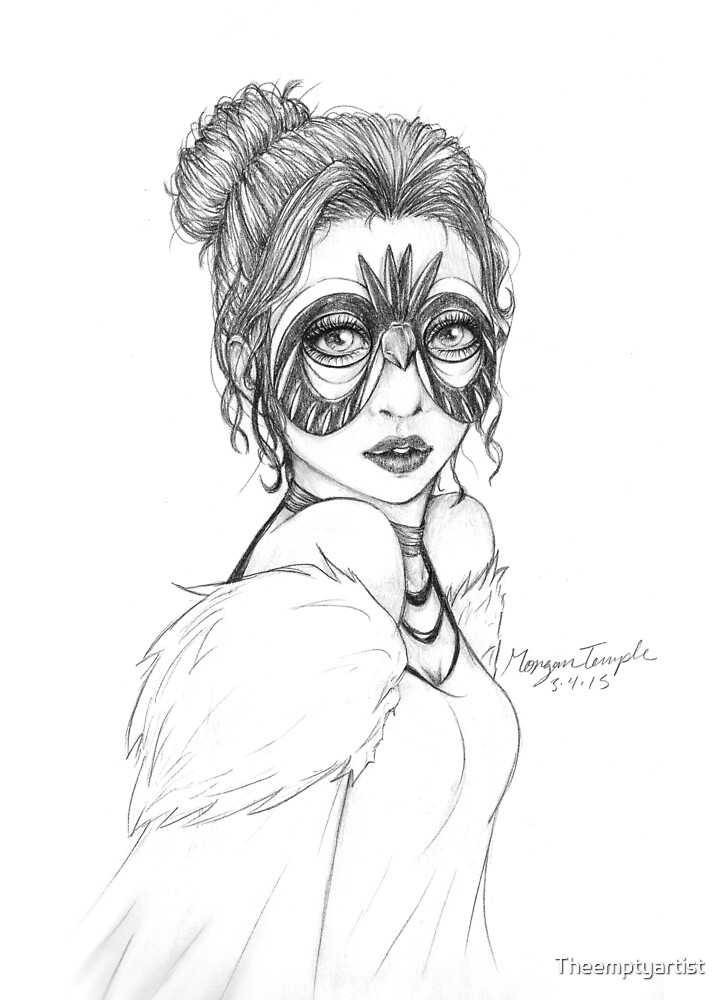 Jade Mask by Theemptyartist
