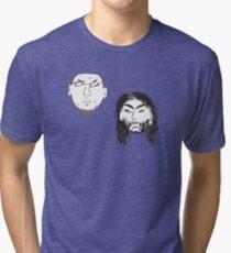 The Greg Birds - Heads Tri-blend T-Shirt