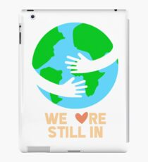 Fight Climate Change iPad Case/Skin