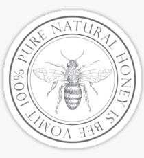 Vintage Honey Bee Stickers Redbubble