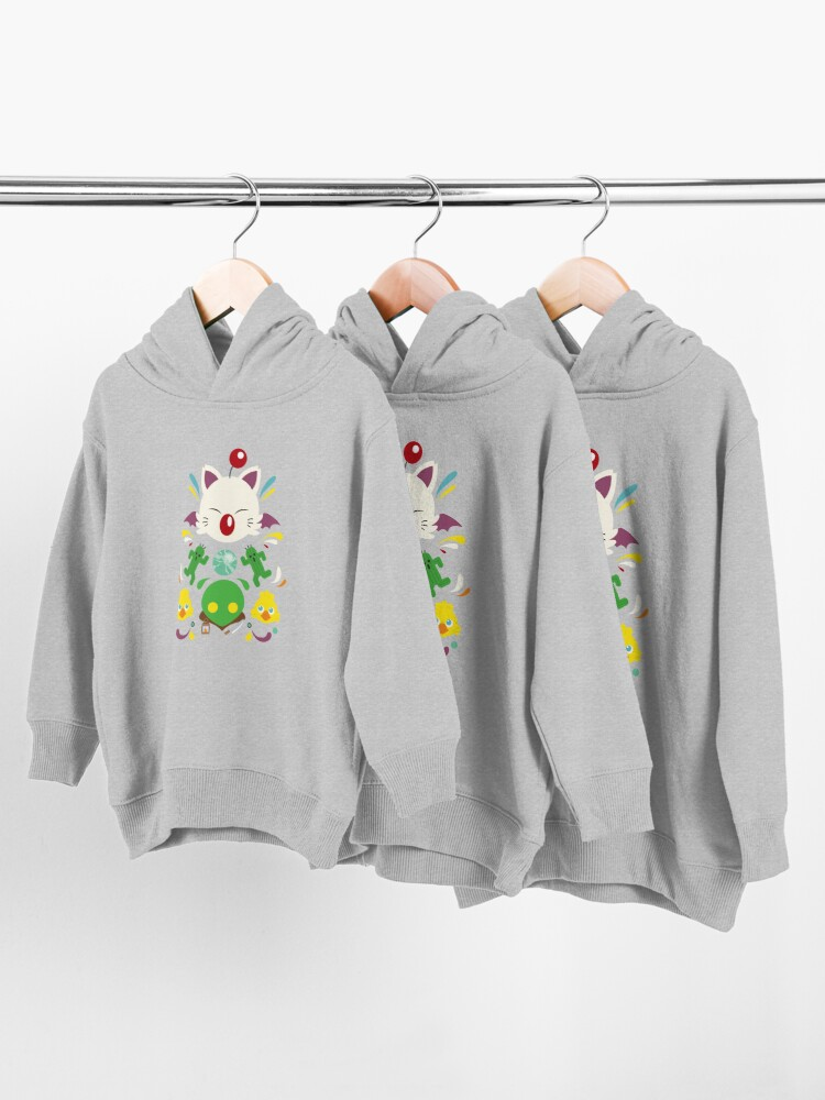 Alternate view of Fantasy Cuteness Toddler Pullover Hoodie