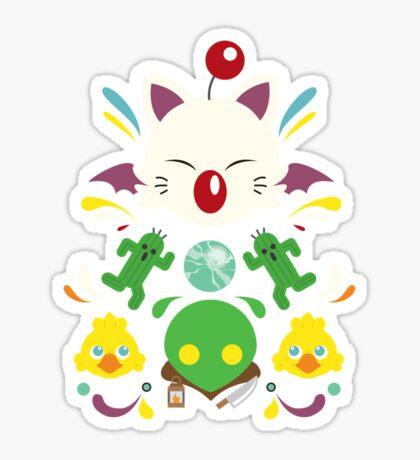 Fantasy Cuteness Sticker