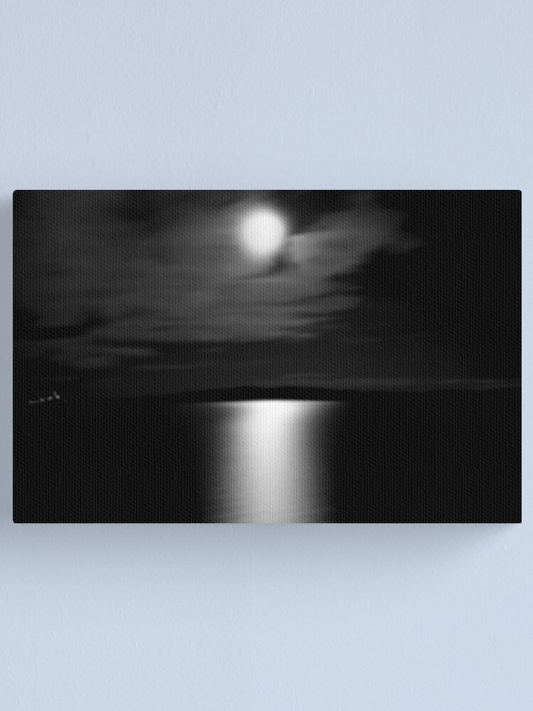 Alternate view of Ferry Moon Canvas Print
