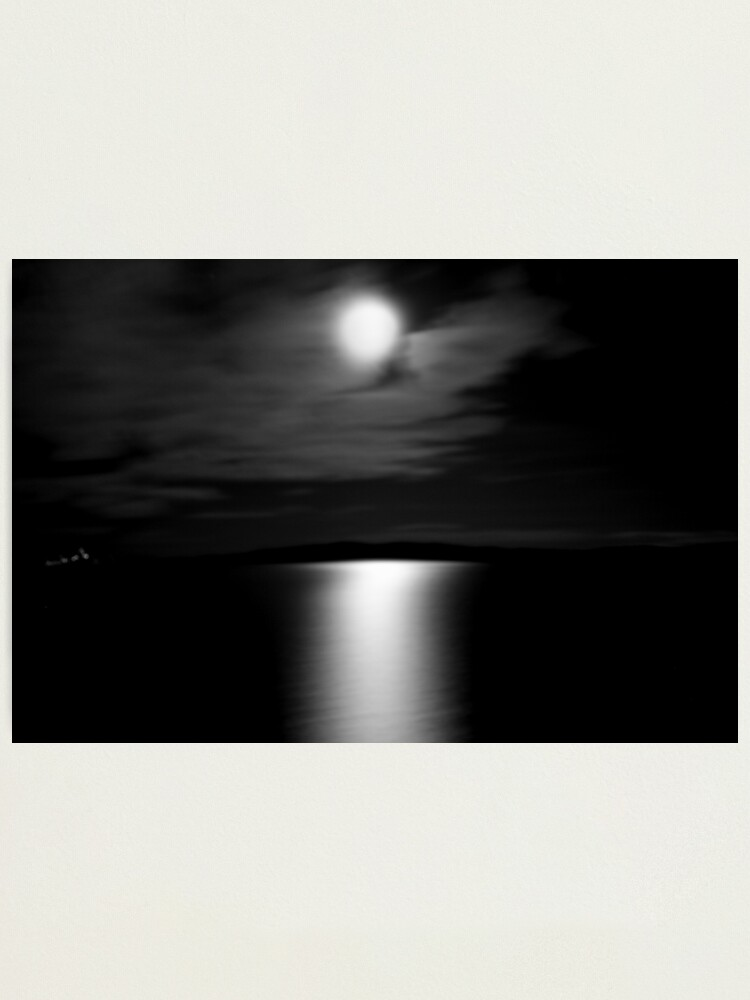 Alternate view of Ferry Moon Photographic Print