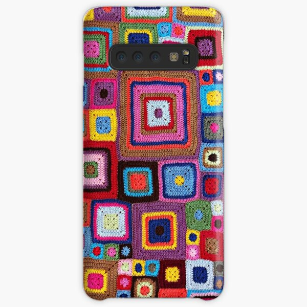cozy crochet Samsung Galaxy Snap Case