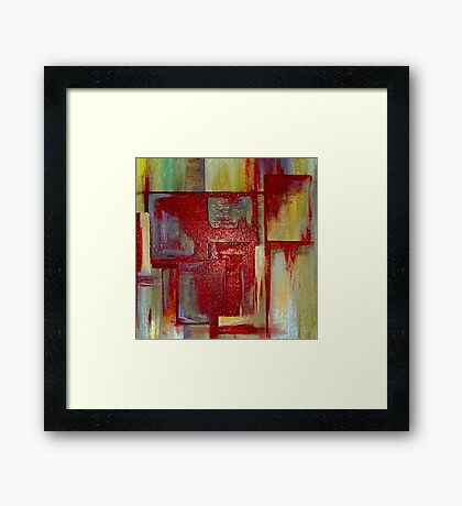 Sections Revisited Framed Print